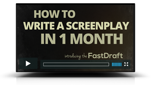 How to Write a Screenplay in 1 Month